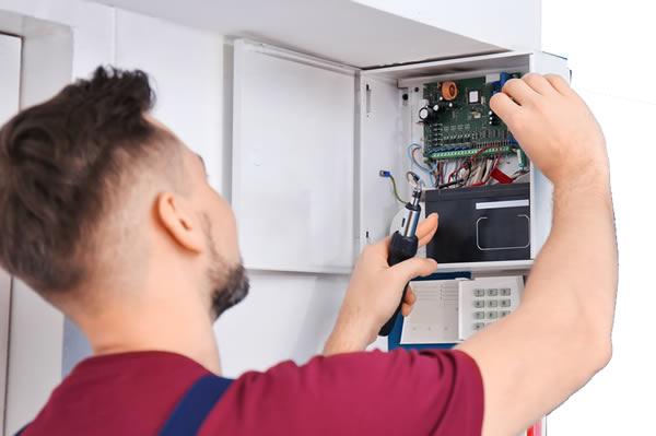 Installation de systèmes d'alarme