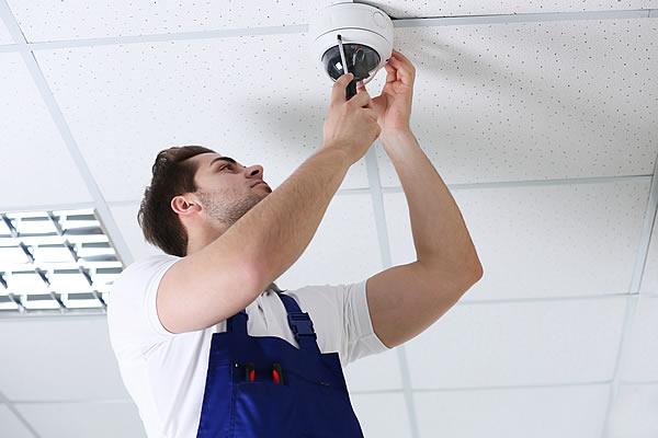 installation cameras